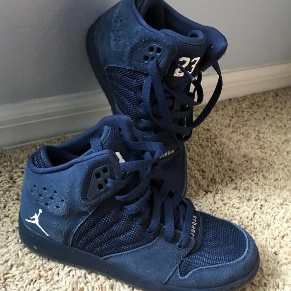 ede09390b73749 Jordan Other - Blue Jordan Sneakers